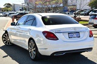 2015 Mercedes-Benz C-Class W205 C250 BlueTEC 7G-Tronic + White 7 Speed Sports Automatic Sedan.