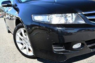 2008 Honda Accord Euro CL MY2007 Luxury Black 5 Speed Automatic Sedan.
