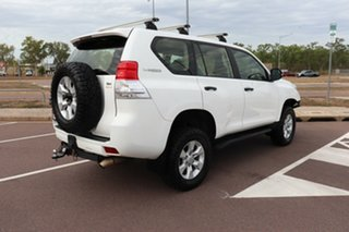 2012 Toyota Landcruiser Prado KDJ150R GX Glacier White 6 Speed Manual Wagon