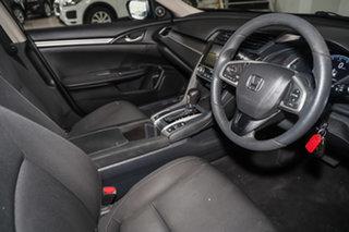2016 Honda Civic 10th Gen MY16 VTi Maroon 1 Speed Constant Variable Sedan.