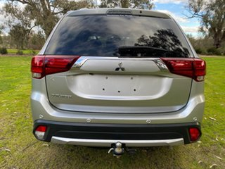2017 Mitsubishi Outlander ZK MY18 LS 2WD Silver 6 Speed Constant Variable Wagon