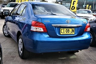 2012 Toyota Yaris NCP131R YRS Blue 4 Speed Automatic Hatchback