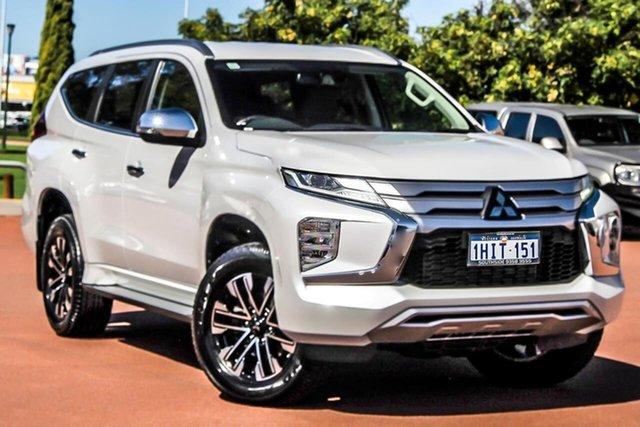 Used Mitsubishi Pajero Sport QF MY20 GLS Cannington, 2020 Mitsubishi Pajero Sport QF MY20 GLS White 8 Speed Sports Automatic Wagon