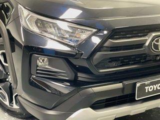2019 Toyota RAV4 Axaa54R Edge AWD Black 8 Speed Sports Automatic Wagon.
