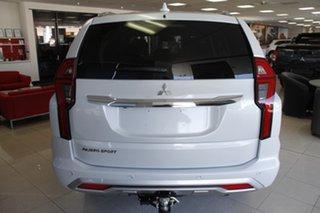 2021 Mitsubishi Pajero Sport QF MY21 GLS White Diamond 8 Speed Sports Automatic Wagon.