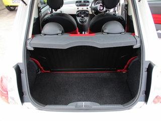 2014 Fiat 500 Series 1 POP White 5 Speed Manual Hatchback