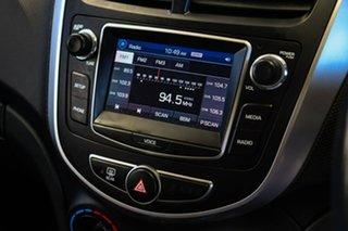 2018 Hyundai Accent RB6 MY18 Sport Yellow 6 Speed Manual Sedan