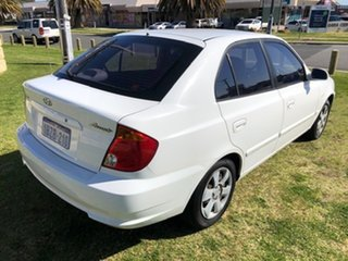 2005 Hyundai Accent LC MY04 GL White 4 Speed Automatic Hatchback.