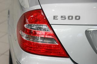 2002 Mercedes-Benz E-Class W211 E500 Elegance Silver 5 Speed Sports Automatic Sedan