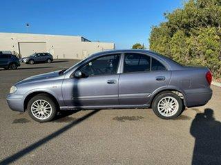 2005 Nissan Pulsar N16 MY2004 ST Blue 4 Speed Automatic Sedan.