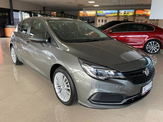 Pre-Owned Holden Astra BK MY17 R Wonthaggi, 2016 Holden Astra BK MY17 R Grey 6 Speed Sports Automatic Hatchback