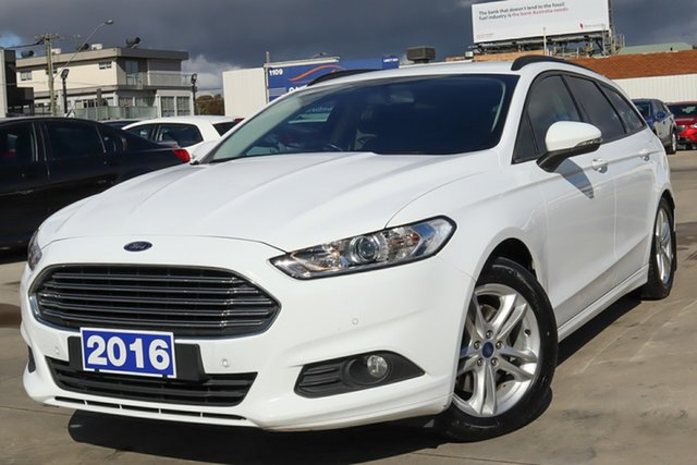 Used Ford Mondeo MD Ambiente Coburg North, 2016 Ford Mondeo MD Ambiente White 6 Speed Sports Automatic Dual Clutch Wagon