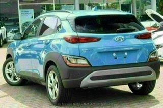 2021 Hyundai Kona Os.v4 MY21 Active 2WD Dark Knight 8 Speed Constant Variable Wagon