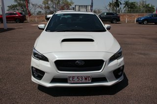 2016 Subaru WRX V1 MY16 Premium Lineartronic AWD White 8 Speed CVT Auto 8 Speed Sedan.