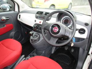 2014 Fiat 500 Series 1 POP White 5 Speed Manual Hatchback.