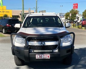 2013 Holden Colorado RG LX White 5 Speed Manual Cab Chassis.