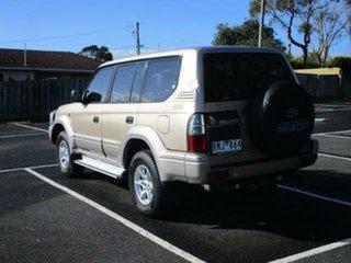 2002 Toyota Landcruiser Prado KZJ95R Turbo GXL Beige Automatic Wagon.