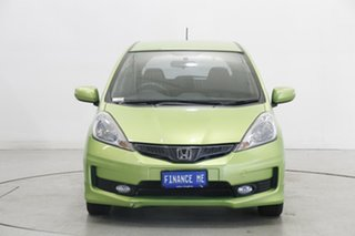2012 Honda Jazz GE MY12 Vibe-S Green 5 Speed Automatic Hatchback.