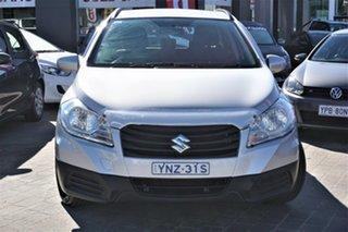2015 Suzuki S-Cross JY GLX Silver 7 Speed Constant Variable Hatchback.