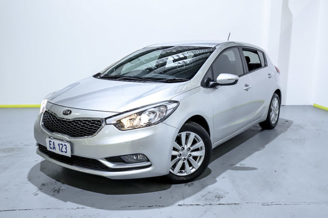 Used Kia Cerato YD MY15 S Premium Canning Vale, 2014 Kia Cerato YD MY15 S Premium Grey 6 Speed Sports Automatic Hatchback