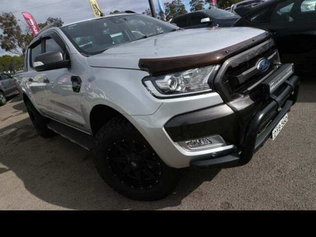 Used Ford Ranger Kingswood, Ford 2018 MY DOUBLE PU WILDTRAK . 3.2D 6A 4X4