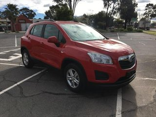 2016 Holden Trax TJ MY16 LS Red 6 Speed Automatic Wagon.