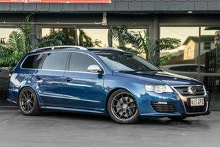 2008 Volkswagen Passat Type 3C MY09 R36 DSG 4MOTION Blue 6 Speed Sports Automatic Dual Clutch Wagon.