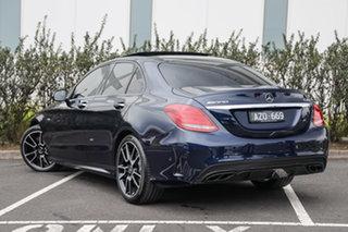 2018 Mercedes-Benz C-Class W205 808MY C43 AMG 9G-Tronic 4MATIC Cavansite Blue 9 Speed.