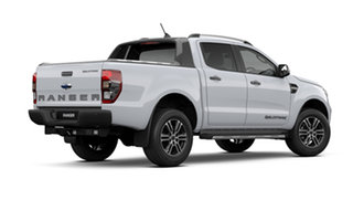 2021 Ford Ranger PX MkIII 2021.75MY Wildtrak Arctic White 6 Speed Sports Automatic