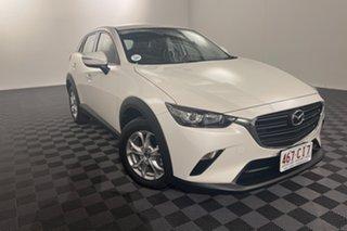 2019 Mazda CX-3 DK2W76 Maxx SKYACTIV-MT FWD Sport Snowflake White Pearl 6 speed Manual Wagon.