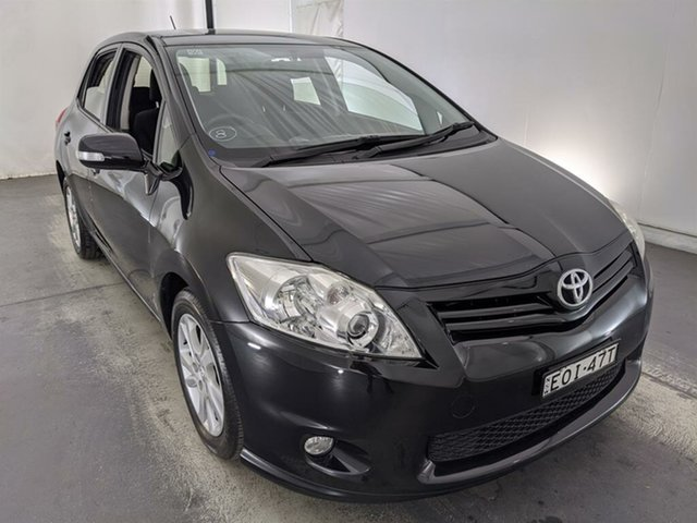 Used Toyota Corolla ZRE152R MY11 Ascent Sport Maryville, 2012 Toyota Corolla ZRE152R MY11 Ascent Sport Black 4 Speed Automatic Hatchback