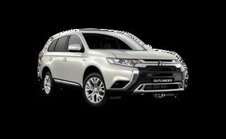 2021 Mitsubishi Outlander ZL MY21 ES 2WD Starlight 6 Speed Constant Variable Wagon.
