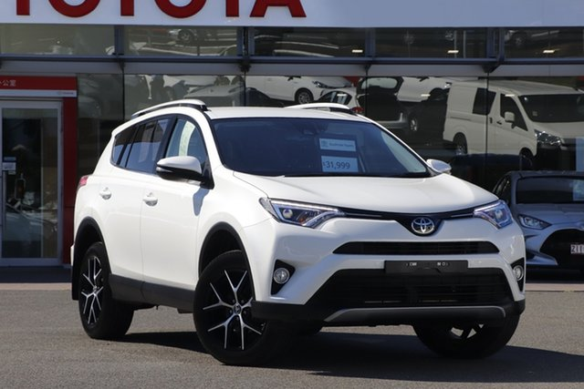 Pre-Owned Toyota RAV4 ZSA42R GXL 2WD Upper Mount Gravatt, 2018 Toyota RAV4 ZSA42R GXL 2WD Crystal Pearl 7 Speed Constant Variable Wagon
