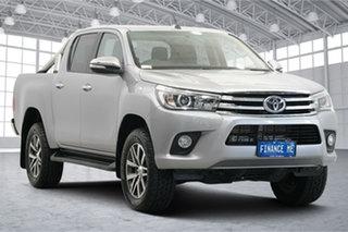 2015 Toyota Hilux GUN126R SR5 Double Cab Silver 6 Speed Manual Utility.