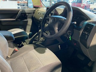 2005 Mitsubishi Pajero NP MY05 GLX Silver 5 Speed Sports Automatic Wagon