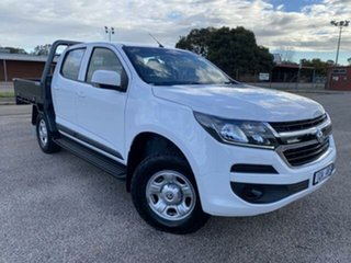 2019 Holden Colorado RG MY20 LS (4x4) White 6 Speed Automatic Crew Cab Pickup.