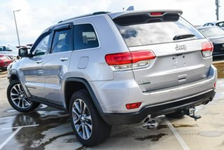 2016 Jeep Grand Cherokee WK MY15 Limited Silver, Chrome 8 Speed Sports Automatic Wagon.