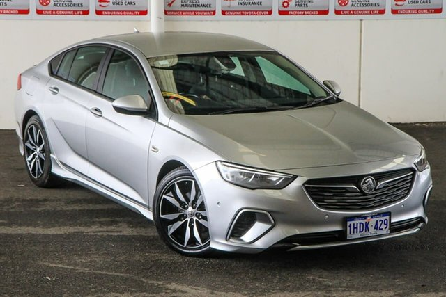 Pre-Owned Holden Commodore ZB MY19.5 RS Myaree, 2019 Holden Commodore ZB MY19.5 RS Silver 9 Speed Automatic Liftback