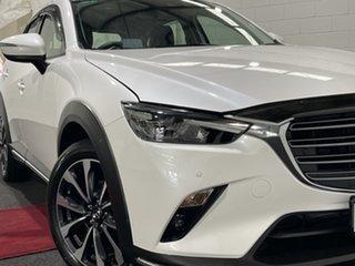 2020 Mazda CX-3 DK4W7A sTouring SKYACTIV-Drive i-ACTIV AWD White 6 Speed Sports Automatic Wagon.