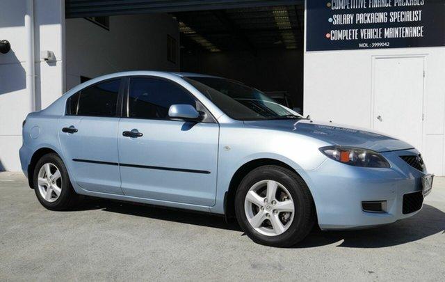 Used Mazda 3 BK10F2 Neo Capalaba, 2008 Mazda 3 BK10F2 Neo Blue 4 Speed Sports Automatic Sedan