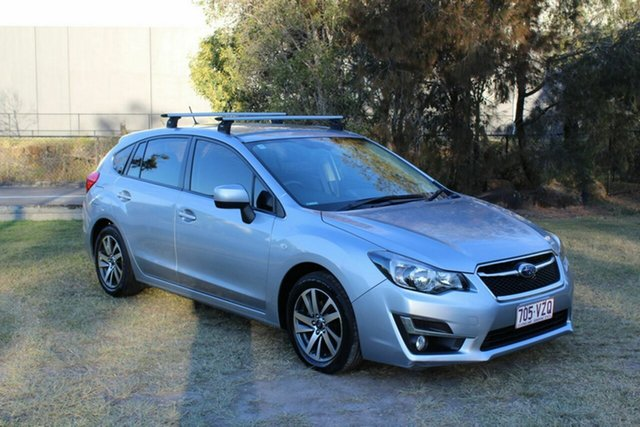 Used Subaru Impreza G4 MY15 2.0i Lineartronic AWD Premium Ormeau, 2015 Subaru Impreza G4 MY15 2.0i Lineartronic AWD Premium Silver 6 Speed Constant Variable Hatchback