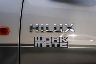 2013 Toyota Hilux TGN16R MY12 Workmate Double Cab 4x2 Grey 4 Speed Automatic Utility