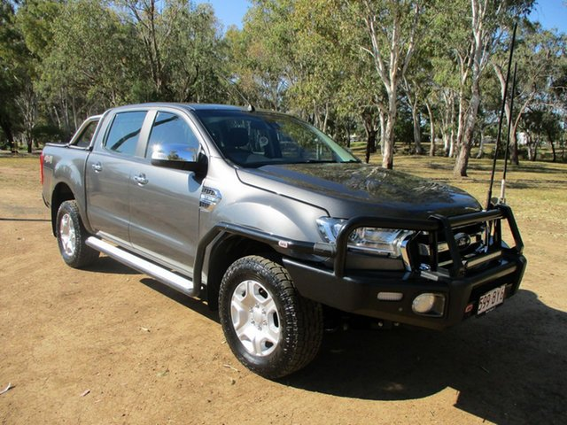 Pre-Owned Ford Ranger PX MkII MY17 XLT 3.2 (4x4) Roma, 2017 Ford Ranger PX MkII MY17 XLT 3.2 (4x4) Grey 6 Speed Automatic Double Cab Pick Up