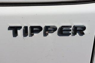 2020 Isuzu NPR Crew Cab White Manual Tipper.