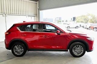 2017 Mazda CX-5 KF4WLA Maxx SKYACTIV-Drive i-ACTIV AWD Sport Red 6 Speed Sports Automatic Wagon