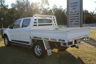 2012 Holden Colorado RG MY13 LX Crew Cab White 6 Speed Sports Automatic Cab Chassis