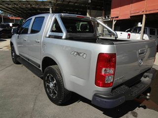 2014 Holden Colorado RG MY14 LX (4x4) Silver 6 Speed Automatic Crew Cab Pickup