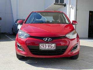 2014 Hyundai i20 PB MY15 Active Red 6 Speed Manual Hatchback.