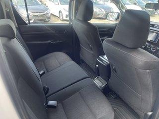 2017 Toyota Hilux GUN126R SR Double Cab White/291217 6 Speed Sports Automatic Utility