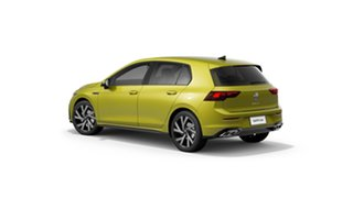 2021 Volkswagen Golf 8 110TSI R-Line Pomelo Yellow 8 Speed Automatic Hatchback.